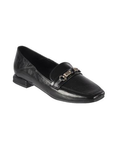 Mhd 142 Siyah Kadın Günlük Ayakkabı Siyah